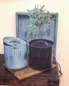 Bilde av Jernspann med lokk, grå