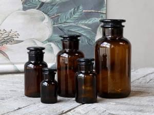 Bilde av Apotekerflaske brunt glass